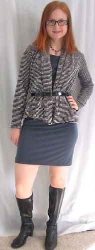 Dress + Cardi
