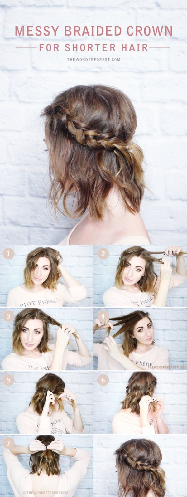 12+ Inspiration Hairstyle Short Hair Girl Easy