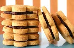 Chocolate Ganache Cookie Sandwiches