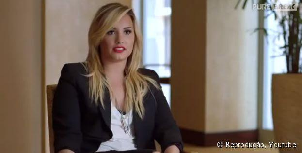 Demi Lovato participa de campanha contra o bullying e cyberbulling!