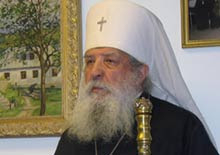 Russia -- Metropolitan Laurus, the head of the Russian Orthodox Church Abroad