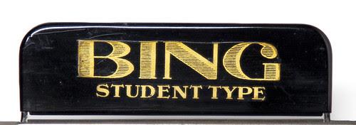 Bing Student Type