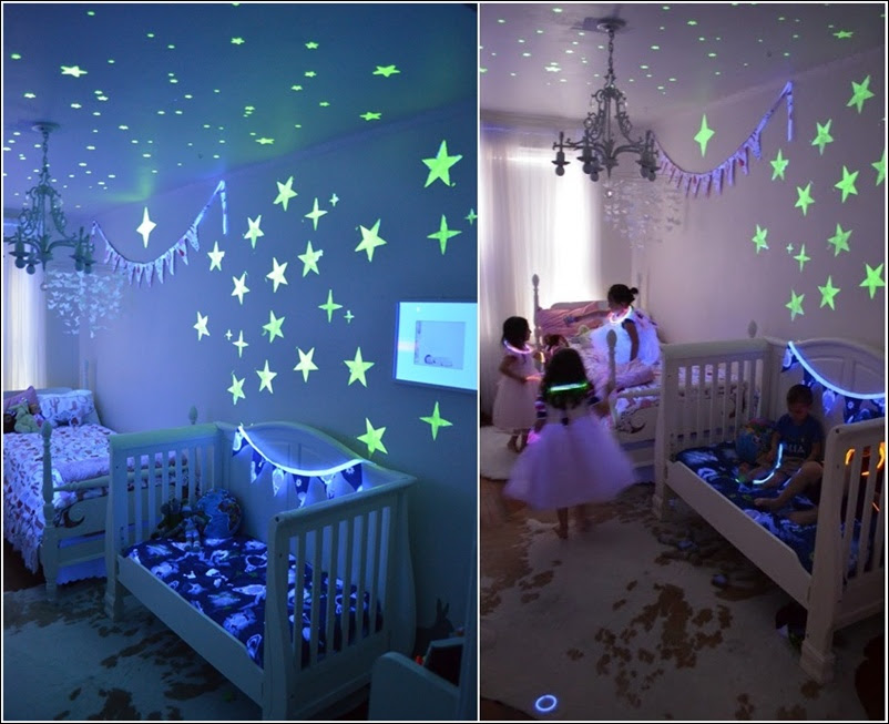 Glow In The Dark Paint And Decals For Your Childs Room