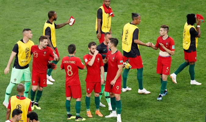 Portugal se medirá a Uruguay en octavos/ Foto AP