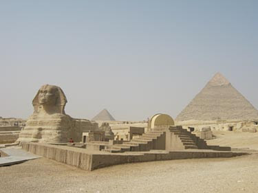 The Sphinx complex at Giza