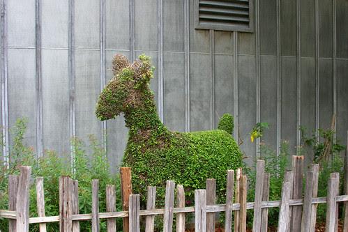 generic animal topiary
