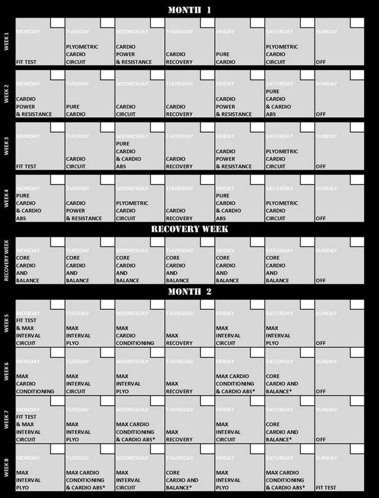 1000+ ideas about Insanity Workout Calendar on Pinterest ...