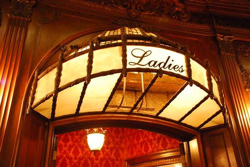 Los Angeles Theatre Ladies' Room Entrance