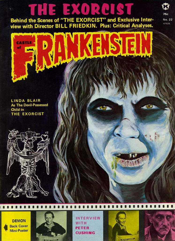 Castle Of Frankenstein, Issue 22 (1974) Cover Art by Bhob Stewart