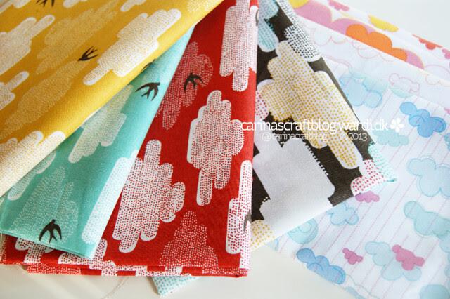 Cloud fabrics for quilt