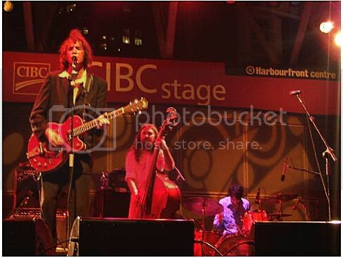 Travis, Sean, and Mike of The Sadies @ Harbourfront: photo by Mike Ligon