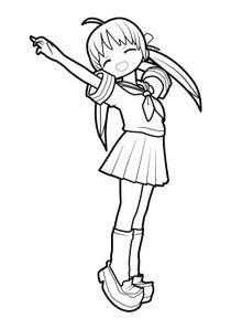 Coloriages Mangas à Imprimer Coloriages Personnages