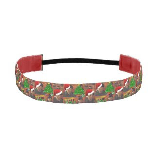 van gogh christmas headband
