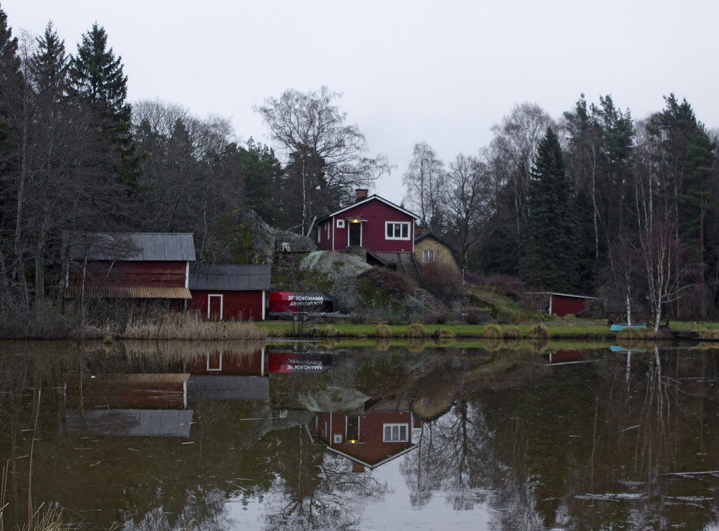 A Grey Day At Little Lake