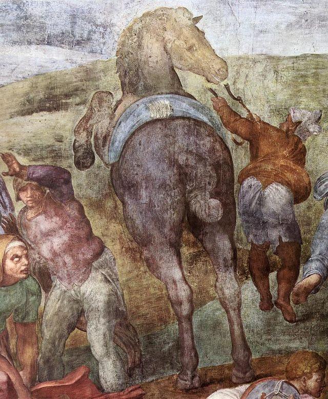 Michelangelo, Pauline konvertering Saulo 02.jpg