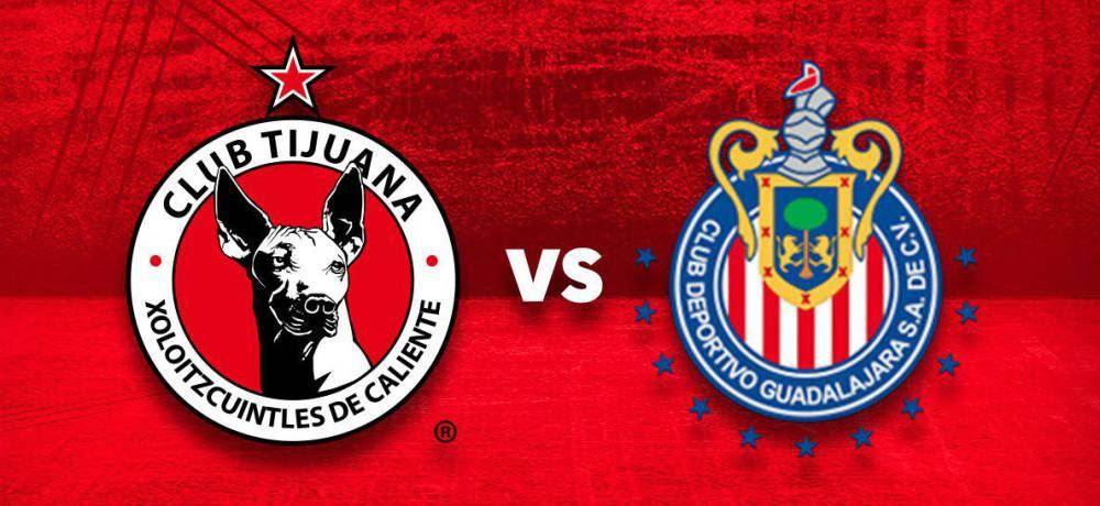 Resultado de imagen para TIJUANA VS CHIVAS