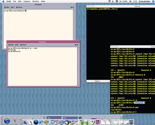 Solaris CDE and OS X by you.