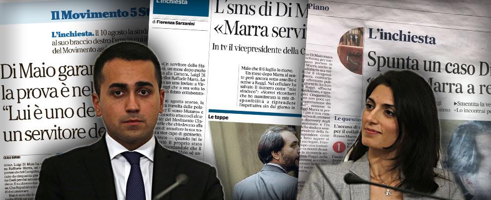 """M5s, """"Di Maio difese Marra"""": ma le chat dicono il contrario. La bufala di Corriere, Repubblica e Messaggero"""