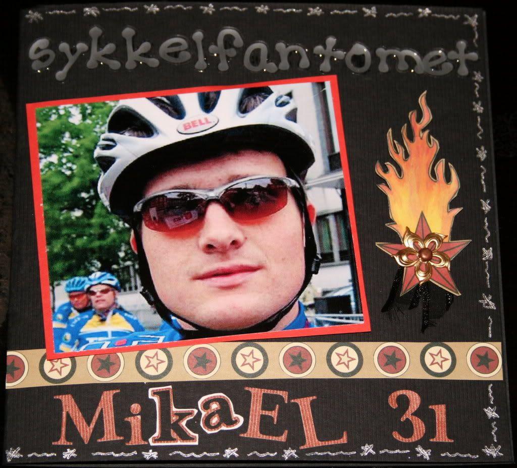 Den spreke 31-åring, sykkelfantomet Mikael