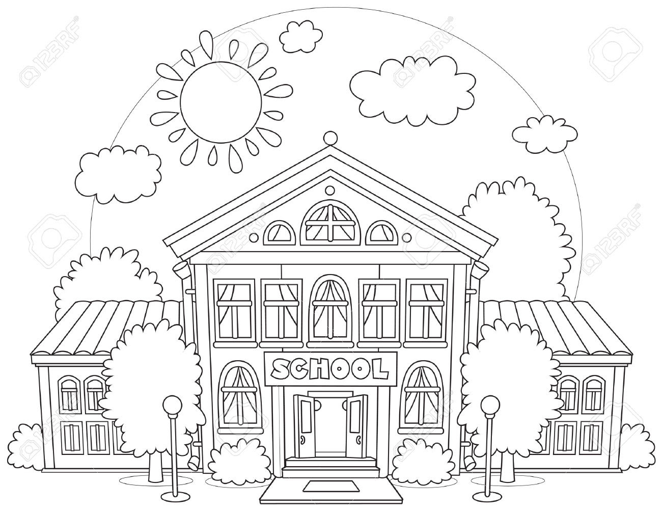 440 Coloring Pages For Primary School Pictures