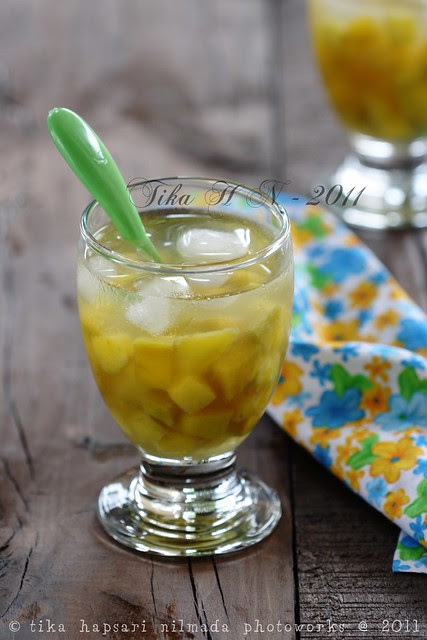 (Homemade) - Serbat kweni / Horse mango sorbet