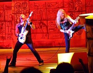 Iron Maiden at Verizon Wireless, Irvine, May 3...