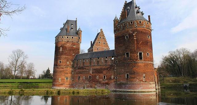 Beersel Castle in Belgium