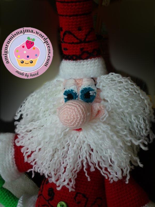santa claus crochet doll ganchillo najma-12
