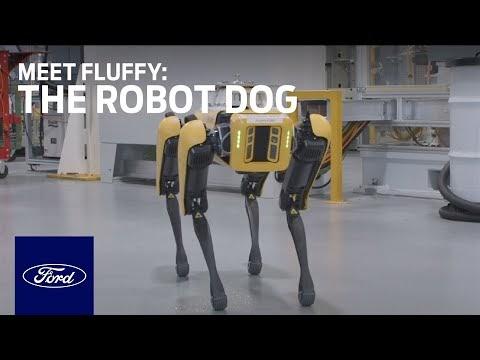 Кучета-роботи ще правят 3D карта на завод за трансмисии на Ford (ВИДЕО)
