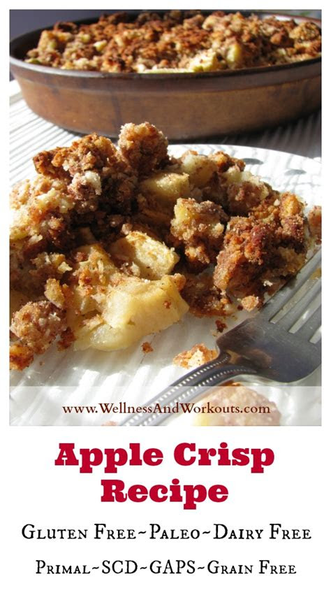 apple crisp recipe paleo apple crisp