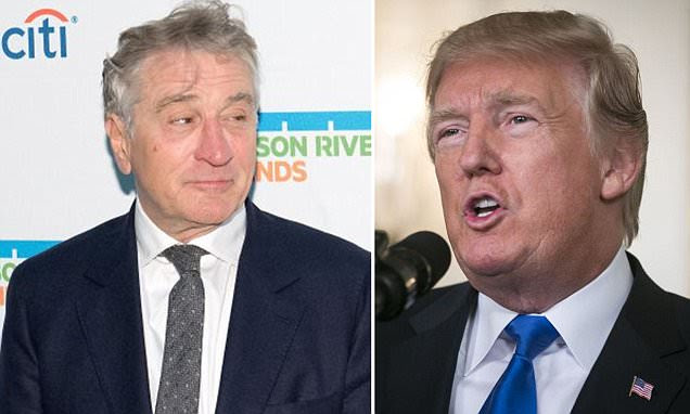Image result for Robert De Niro says Donald Trump is banned from Nobu restaurants worldwide