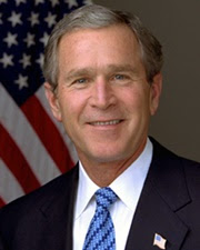 43rd US President George W. Bush