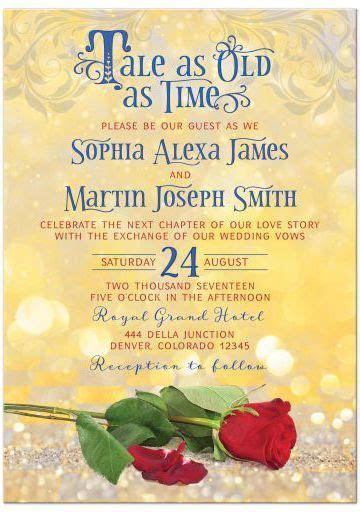 17 Best ideas about Fairytale Wedding Invitations on