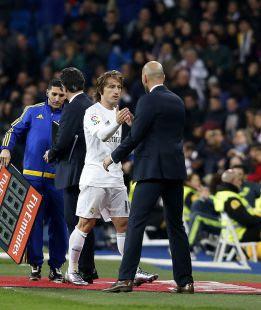 """Modric: """"Zidane es un ídolo, cada consejo que da es un tesoro"""""""
