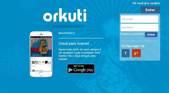 Orkuti possui mais de 600 mil usuários em 10 países (Foto: Reprodução/Orkuti)