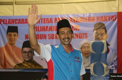 PRK Sg Kandis: Zawawi diterima kerana sumbangan kemasyarakatan
