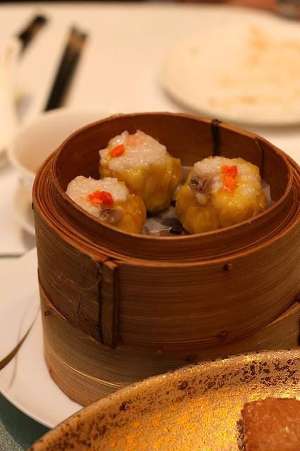 Chef Pei Ge's signature 'Siew Mai'