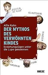 """Cover """"Der Mythos des verwöhnten Kindes"""" Alfie Kohn"""