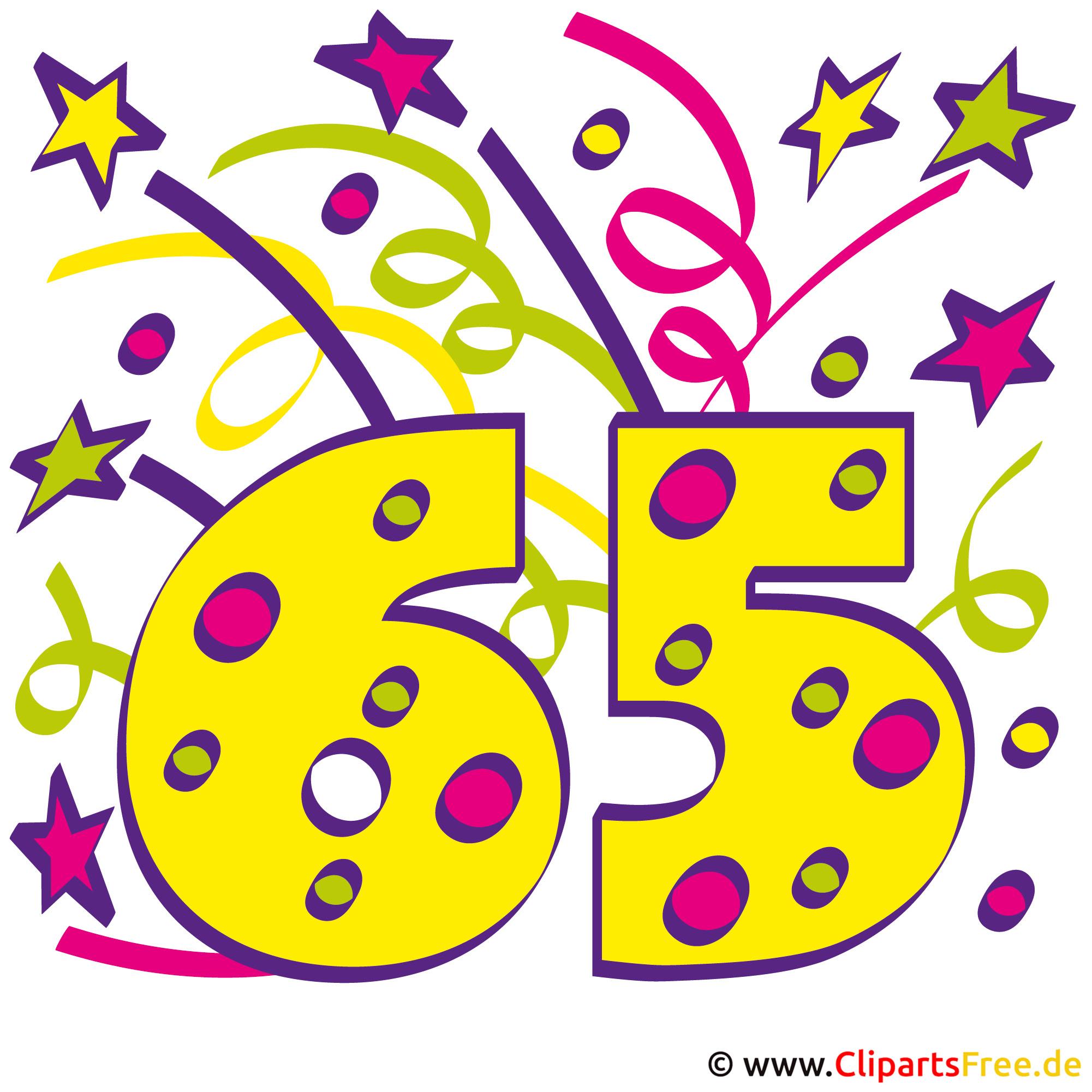 Gluckwunsche Zum 65 Geburtstag Mit 3d Buchstaben Und Sofamotiv