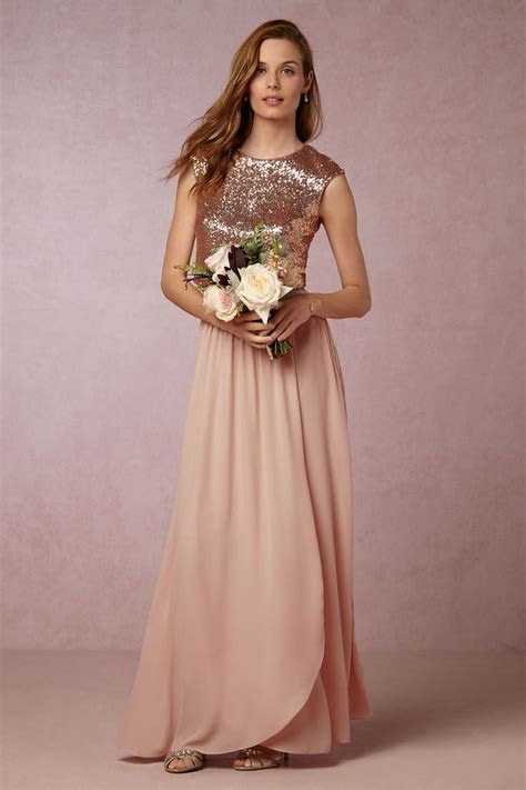 Best 25  Rose gold gown ideas on Pinterest   Rose gold