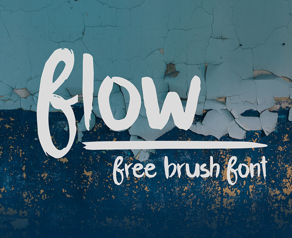 Flujo libre Brush Fuente