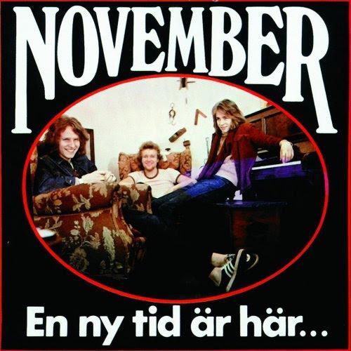 November  - En Ny Tid Är Här... Album Cover