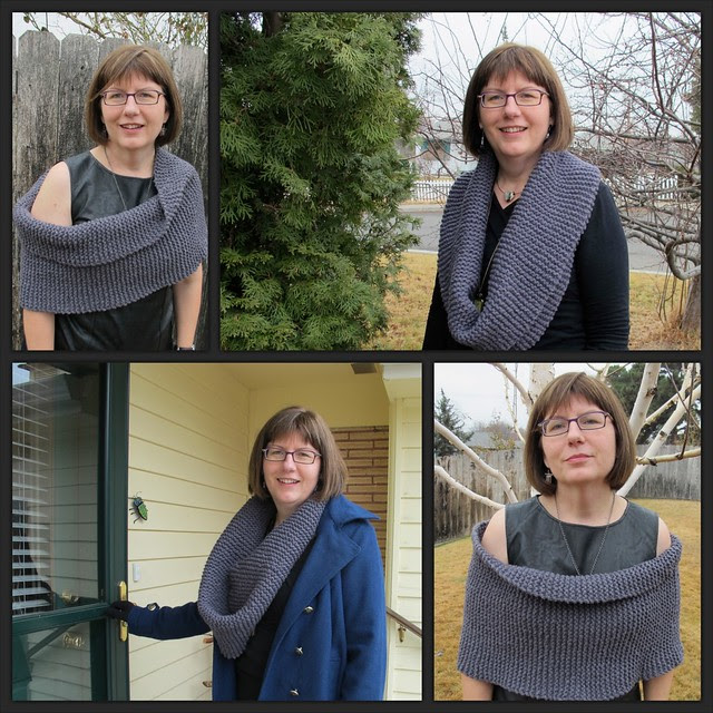 My kind of cowl - Imperial Wool two-strand roving