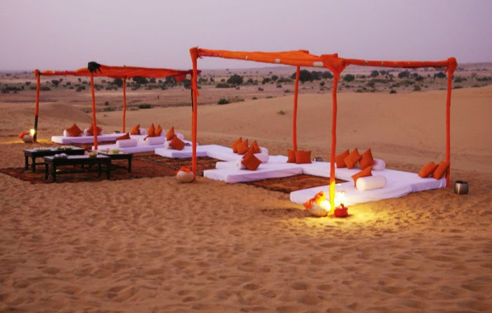 Honeymoon in the heart of the great Thar Desert, Jaisalmer