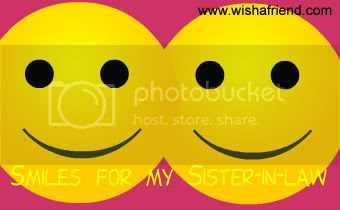 Sister In Law Facebook Graphic Smiles For My Sister In Law