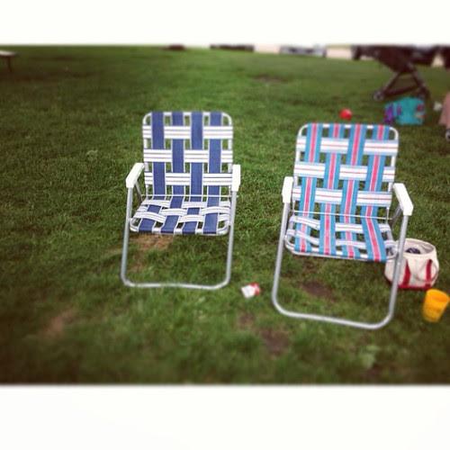 Chairs on their last leg