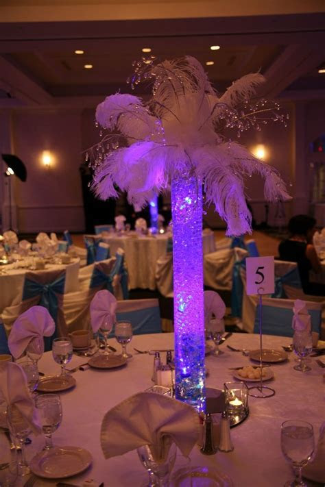 lighted tree centerpieces for weddings   LED Submersible