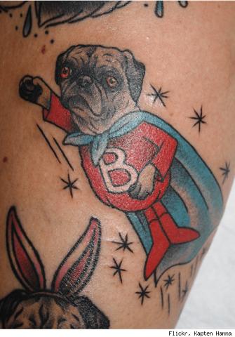 10 Tatuajes De Perros Excepcionalmente Originales