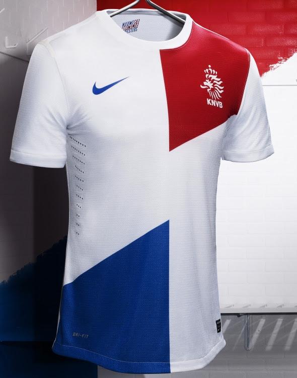White Netherlands Jersey 2013