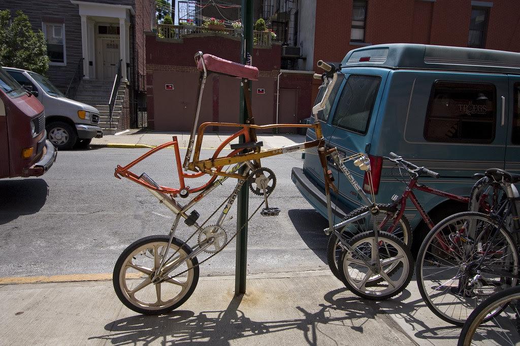 A bike of bikes